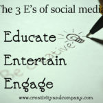 Using the 3 E's strategy in social media