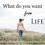 Journal prompt: what you want in life