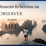 12 Reasons to become an observer in your life