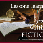Lessons learned from writing fiction